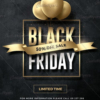 Black Friday Flyer Templates Psd