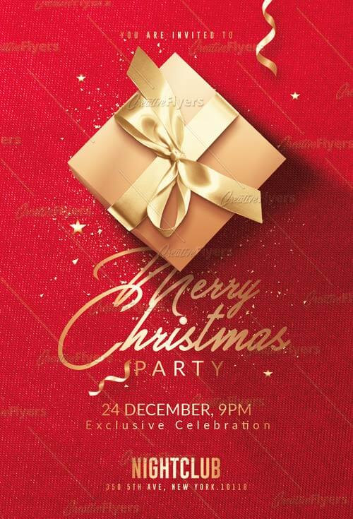 Classy Christmas flyer Templates