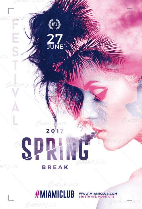 Spring Flyer  Download Psd Templates  Creative Flyers