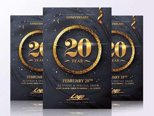 Birthday Invitation Flyer Templates