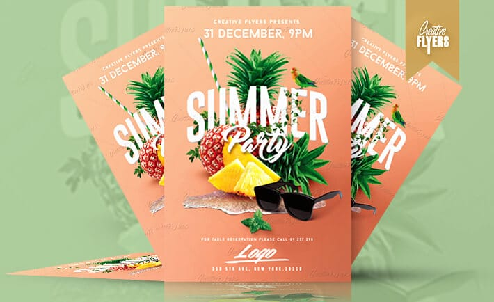 summer flyers party