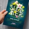 Floral Summer Flyer Template