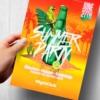 Orange Summer Party Flyer