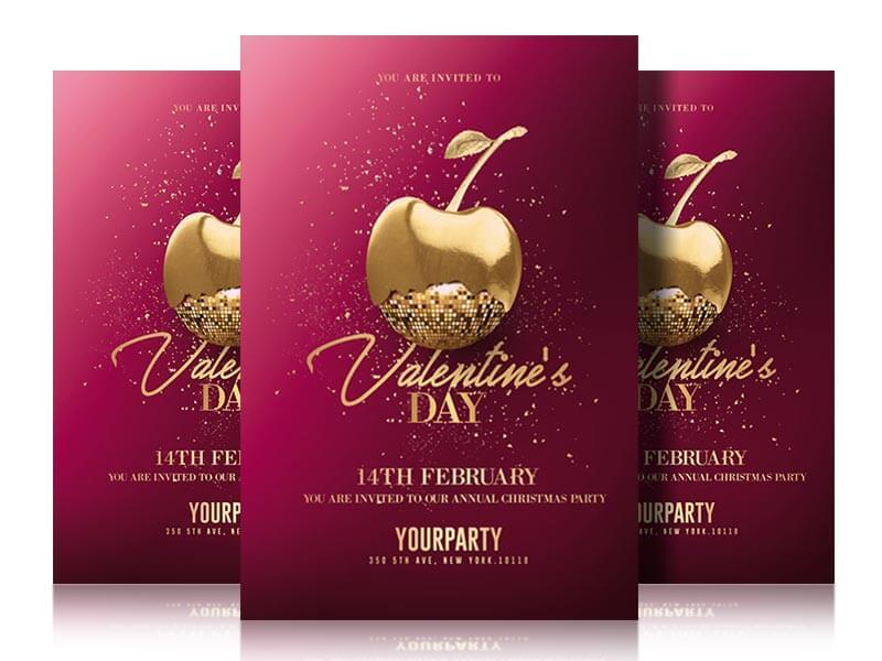 Valentines day Psd