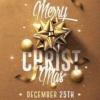 Classy Christmas Flyer Templates Psd