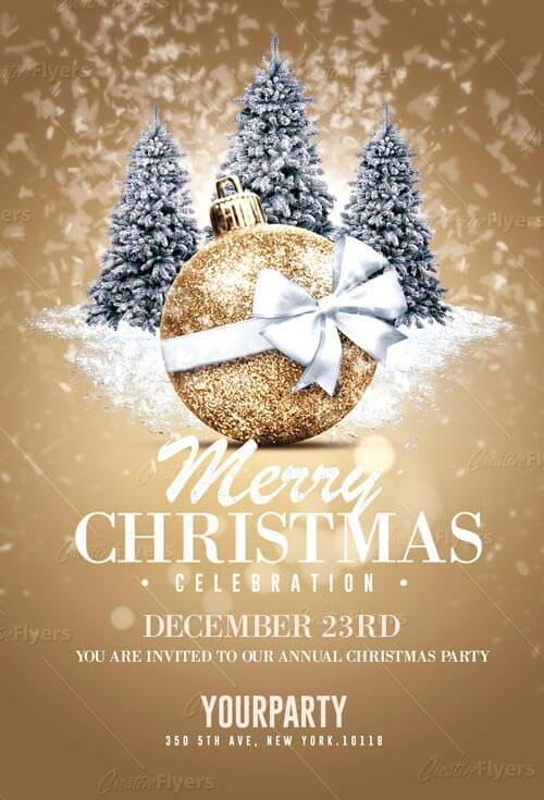 Christmas Flyers templates creativeflyers