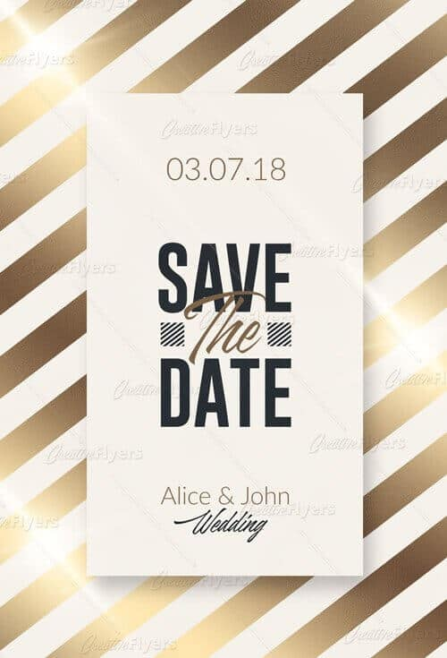 Customize wedding templates psd invitation creative flyers wedding invitation templates creativeflyers stopboris Images