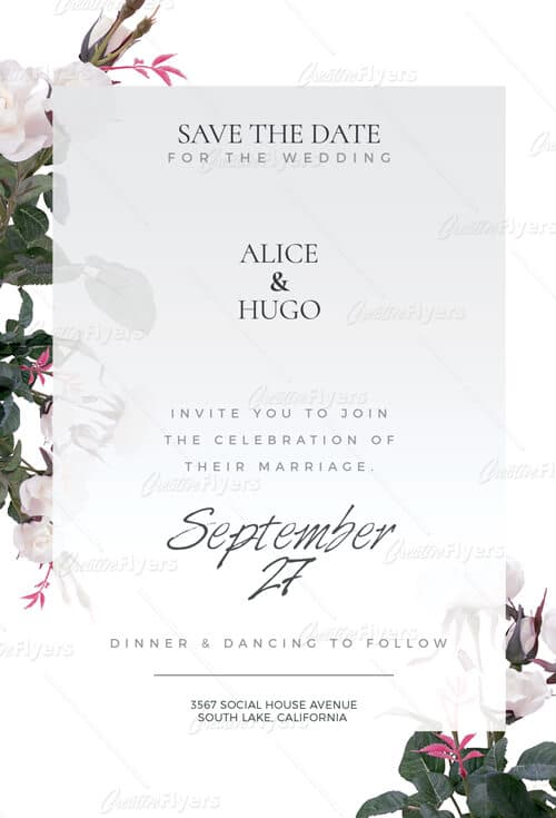 Wedding Cards Flyer Templates