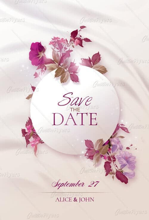 exclusive best wedding invitations psd templates creative flyers