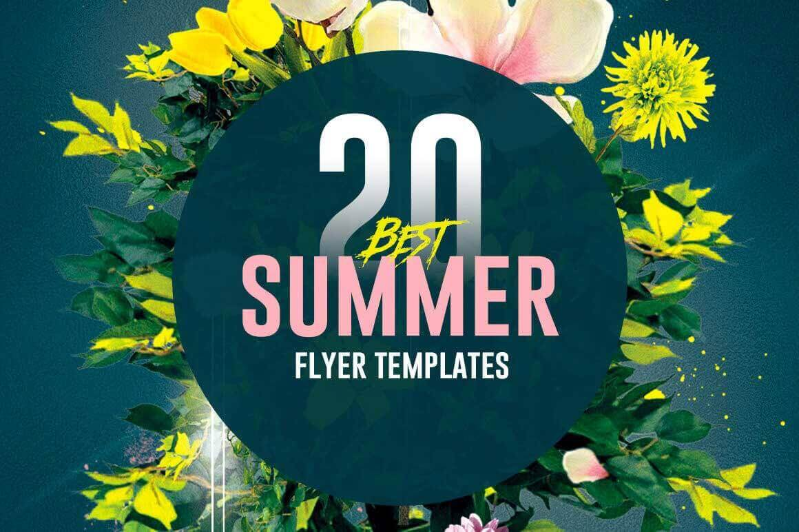 20 summer flyer templates