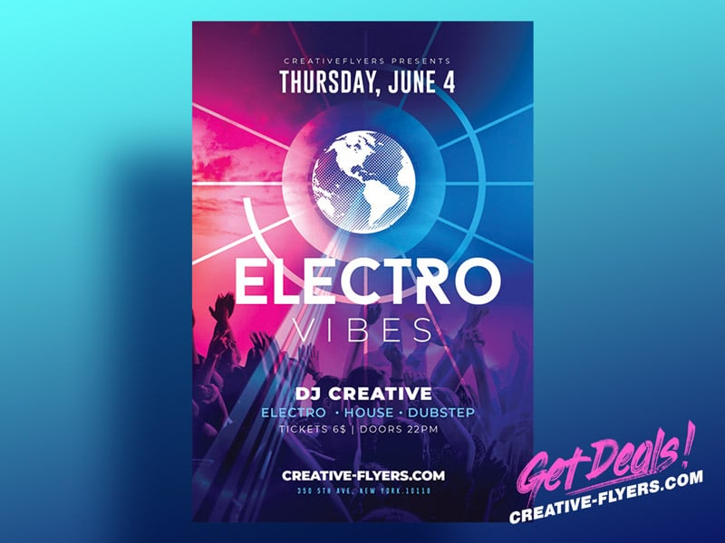 Electro Club Flyer