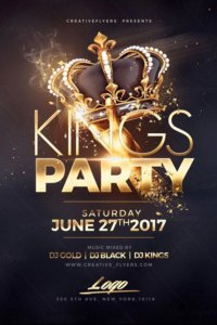 Night Of Kings club flyers creative flyers