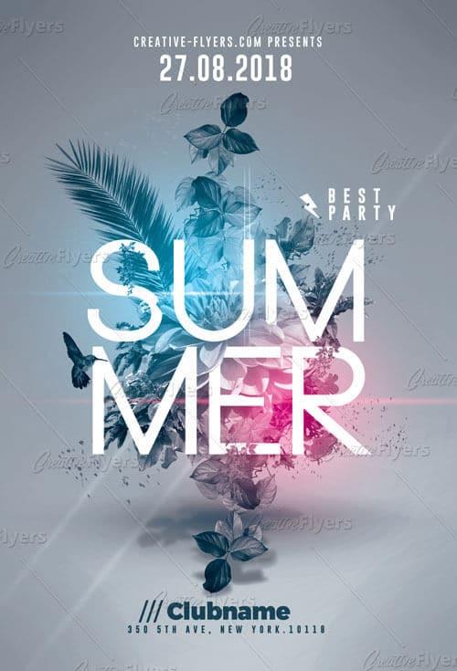 summer flyer psd templates creative flyers