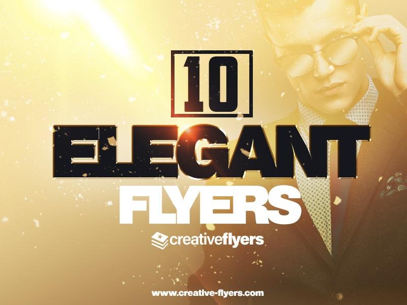 10 Elegant Flyer Templates