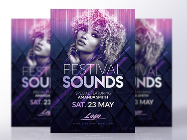 Festival Music Flyer Psd
