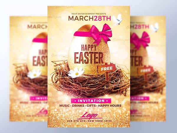 Happy Easter Flyer