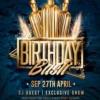 Birthday Bash Flyer Psd Template