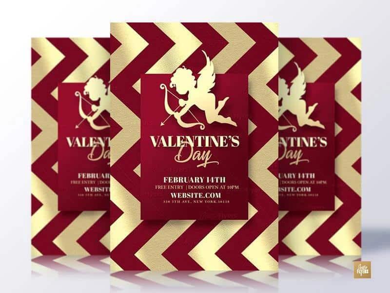 Classy Valentines Day Flyer