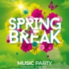 Spring Break Psd Flyer Templates