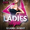 Ladies Night Flyer Templates