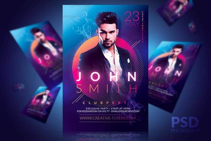 Dj Party flyer Templates - Creative flyers