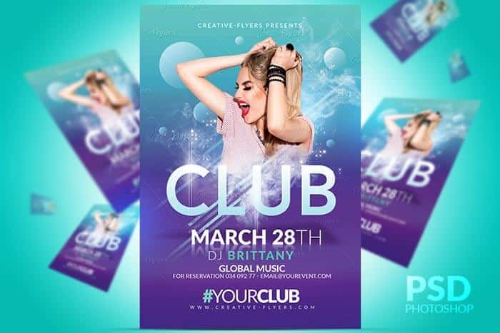 Club Party Flyer - Creative flyers