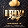 Birthday Psd Flyer