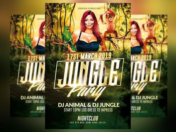 Jungle Psd Flyer