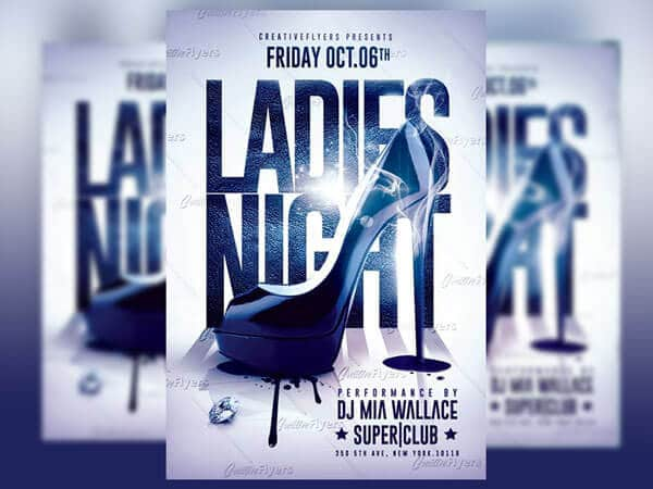 Ladies Night Flyer Party