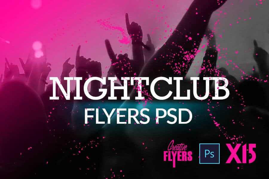 15 Night Club Flyer Templates on creativeflyers