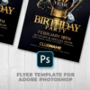 Elegant Birthday Flyer