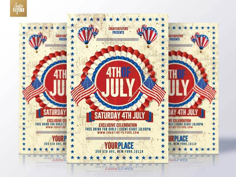 4th of july Flyer