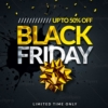 Black friday flyer templates