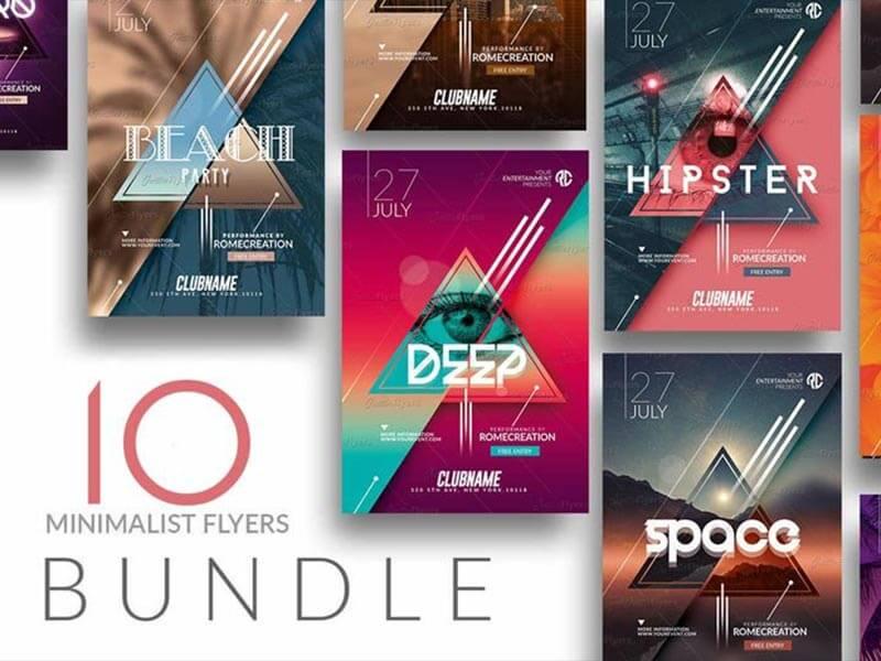 Bundle flyer templates