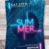 creative summer flyer psd