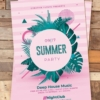 Summer Invitation Flyer Psd