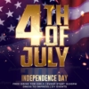 4th of July Flyer psd - creative flyers