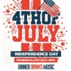 Creative 4th of July Flyer template
