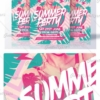 creative summer flyer