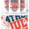 creative 4th of july flyer