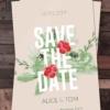 Psd wedding invites creativeflyers