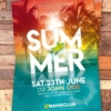 Summer Flyer Psd template
