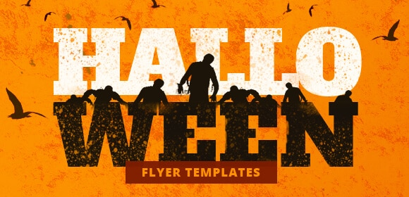 Halloween flyer templates category