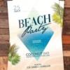 Summer Party Flyer Design