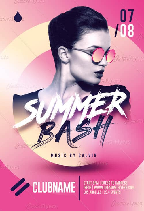Summer Bash Flyer - Creative Flyer
