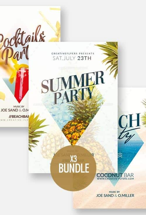 Summer flyers Bundle