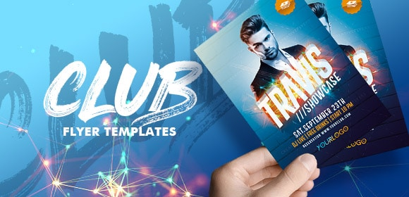Club flyer templates