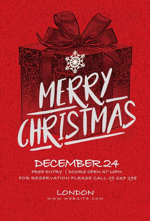 Christmas Invitation.Christmas Card Invitation