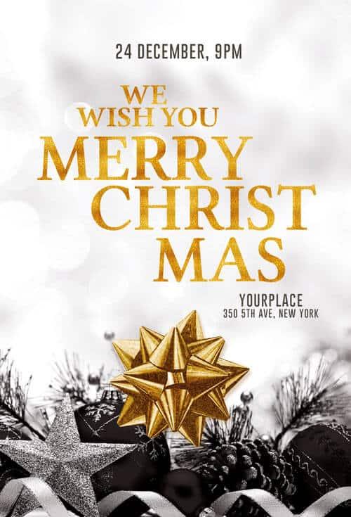 Merry Christmas Invitation
