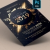 New Year Invitation flyer